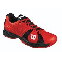 Tênis Wilson Rush Sport Red Black Masculino