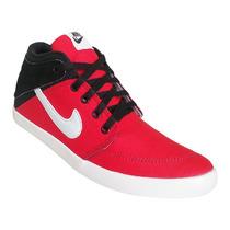 Tênis Nike Suketo Cano Médio Vermelho E Preto