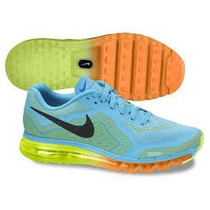 Tenis Nike Air Max 2014 Azul Bb 100% Original Imperdivel