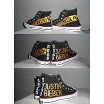 Tênis # Justin Bieber Converse All Star Pintado À Mão