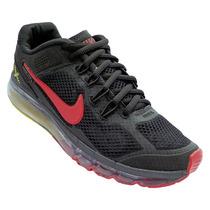 Tênis Nike Air Max 2013 Preto-vermelho Oferta Frete Gratis