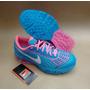 Nike Air Max Bolha Lançamento 2015 Rosa E Azul Bebê Frete Gr
