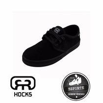 Tênis Skate Hocks Del Mar Lite Black - #esportesobrerodas