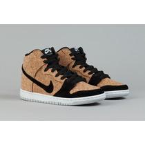 Tenis Nike Dunk High Premium Cork Raro Sneaker Promoção