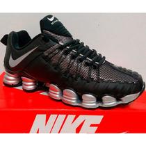Nike Total Shox Masculino Novo 12 Molas Aqui Fotos Reais