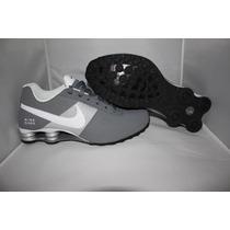 Tenis Nike Shox Deliver Masculino Cinza- Original