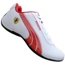 Tênis Sapatenis Casual Ferrari Drift Novidade Especial