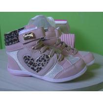 Tênis Sneaker Infantil Carmin Menina Frete Grátis