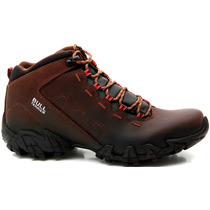 Bota Bull Terrier Ranger Couro Natural Original + Nota Fis