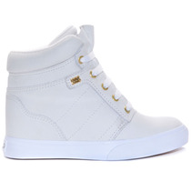 Tênis Mary Jane Night Heel Sneaker White Mjk-4203a Karen Jon