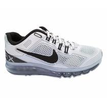 Tênis Nike Air Max Shoes,prata 100% Frete Gratis P/ Brasil