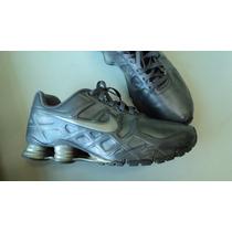 Nike Shox Turbo Xii - Cinza (prata) 44brasil - 11 Eua- Usado