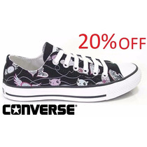 20% Off Tênis Converse All-star Print Clock Ox Ct3520001