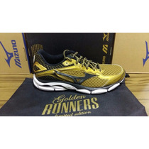Mizuno Wave Ultima 7 Golden Runners Lançamento 2016
