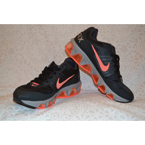 Tenis Feminino Nike Air Max Triade 3 Numero 36 Preto/laranja