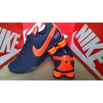 Tenis Nike Shox Quatro Molas Junior Nz R4 Frete Gratis