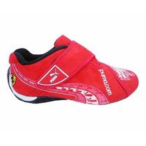 Tênis Puma Masculino Ferrari New Classic Preto E Vermelho