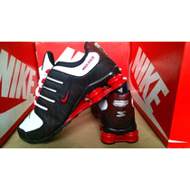 Tenis Nike Shox Junior 4 Molas Na Caixa + Frete