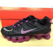 Tenis Nike Shox Tlx 12 Molas Feminino 100% Original
