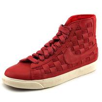 Nike Blazer Mid Sapatilhas De Couro Tecida