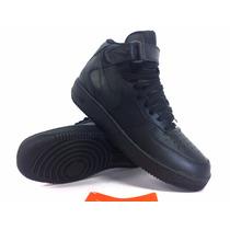 Tênis Nike Air Force Couro Cano Médio Velcro Cadarço Novo!