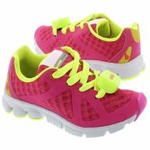 Tenis Bibi Liga,pisca E Acelera Pink Neon