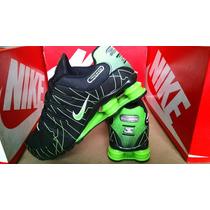 Tenis Nike Shox Quatro Mola Junior Nz , R4 Frete Gratis