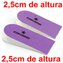 Par Palmilhas Confortáveis Ajuste De Altura 2,5 Centímetros