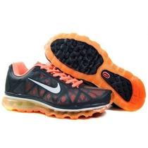 nike shox bb4 rétro - Nike Air Max 2011 Preto/vermelho Original Na Caixa!!! - T��nis Nike ...