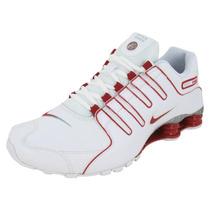 Nike Shox Nz White Red Grey 11us 43br