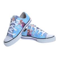 Tênis Infantil All Star Converse Frozen Lançamento Redtag