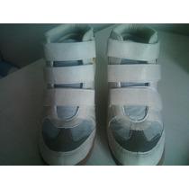 Sneaker Fiveblu Recortes Bege/amarelo