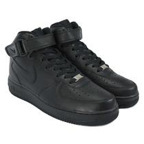 Tênis Bota Nike Air Force Black Preta Cano Alto Lançamento