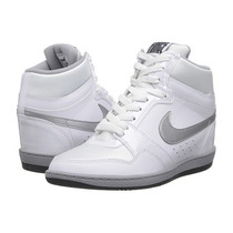 Tênis Casual Nike Wmns Force Sky High Branco - Original