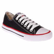 Tênis Feminino All Star Converse Preto Marca Superstar
