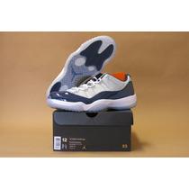 Nike Air Jordan Retro 11 Low Grey Navy Georgetown Bred