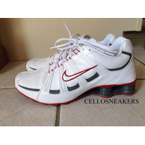 Tenis Nike Shox Turbo Sl 41 Branco E Vermelho Frete Grátis
