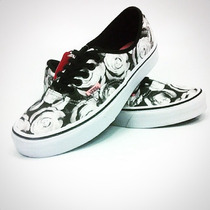 Vans Authentic /digi Roses / Black True White N 37 R$ 279,0