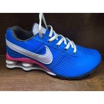 Nike Shox Classic Junior 4molas Feminino + Frete Gratis