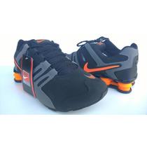 Nike Shox Corrente Laranja - Novo Lançamento - Frete Gratis
