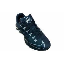 Nike Shox Superfly R4 Preto E Prata