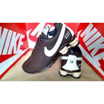Tenis Nike Shox Classic R4 Onix 4 Molas