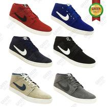 Botinha Nike Suketo Mid Leather Couro Nobook
