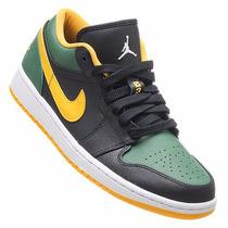 Tênis Nike Air Jordan 1 Low 553558 037 Seattle Supersonics N