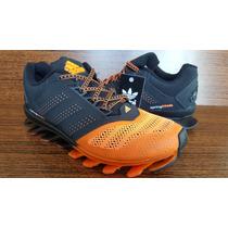 Adidas Springblade Laranja Masculino Numero Novo - Promoção