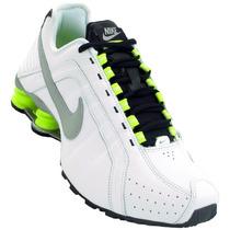 Tenis Nike Shox Junior Masculino Original Branco