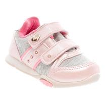 Tênis Infantil Klin Feminino Velcro Criança Casual 135002