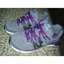 Tênis Nike Feminino Original Cinza/roxo 36