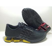 Adidas Porshe Design Bounce S Preto Luxo Qualidade Conforto