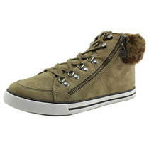 G By Guess Oshay Mulheres Canvas Sneakers